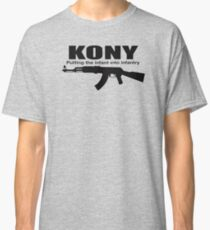 Kony Putting The Infantry Classic T-Shirt