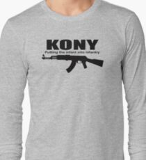 Kony Putting The Infantry Long Sleeve T-Shirt