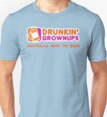 Drunkin Grownups (Australia Version) Unisex T-Shirt