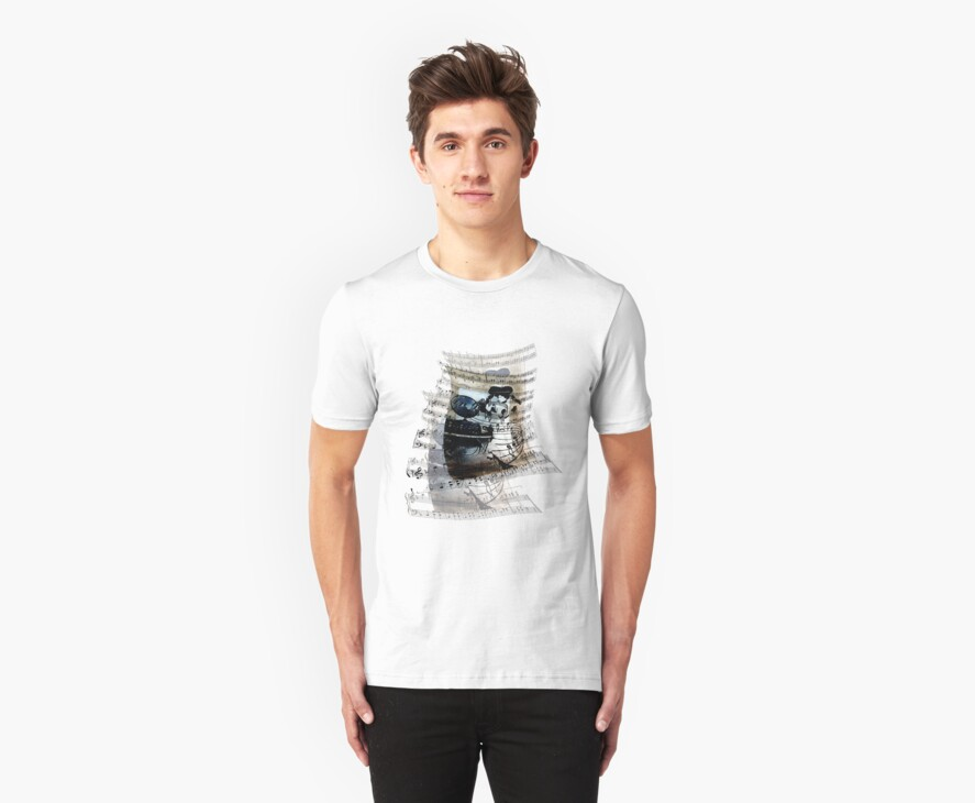 Music Moves Me by MBTshirts