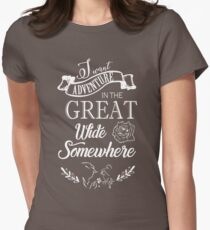 Beauty and The Beast Women's Fitted T-Shirt