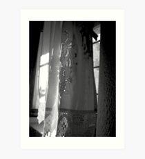 Cretian Curtains Art Print