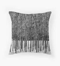 Trees 'n Shadows Throw Pillow