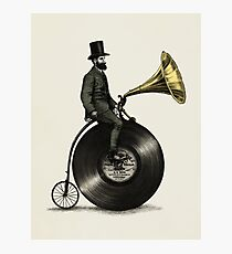 Music Man Photographic Print
