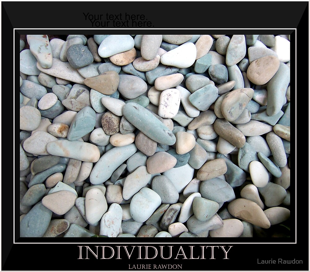Individuality by Laurie Rawdon