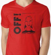 Rock n Roll Star Mens V-Neck T-Shirt