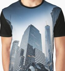 nyc world trade center Graphic T-Shirt