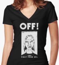 First Four EP Women's Fitted V-Neck T-Shirt