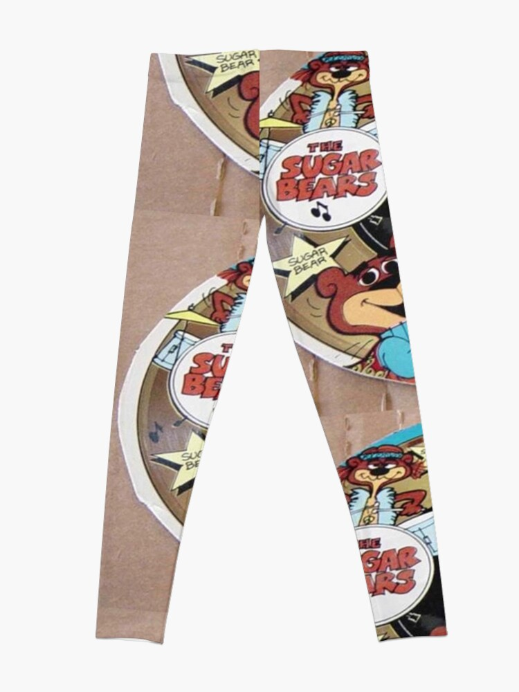 Alternate view of The Sugar Bears Cereal Box Record Picture Disc Leggings