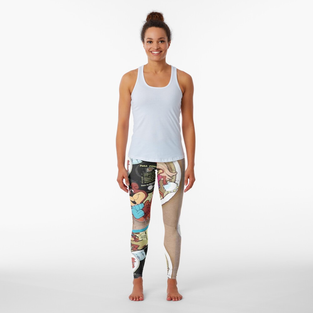 The Sugar Bears Cereal Box Record Picture Disc Leggings