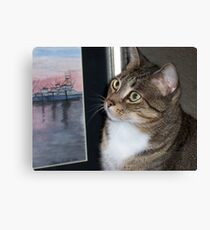 My Critic Canvas Print