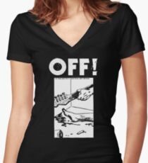 Wild Stories Women's Fitted V-Neck T-Shirt