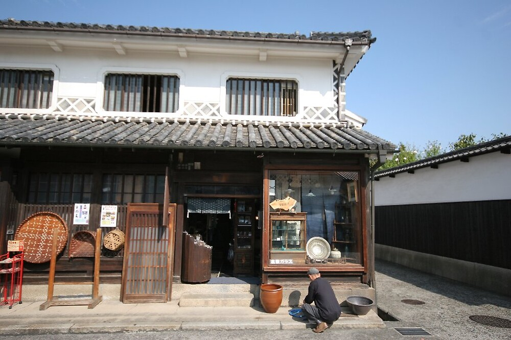 Kurashiki - Bikan Quarter old shops by Trishy