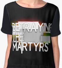 betraying the martyrs band logo custom Chiffon Top