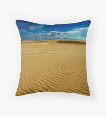 Stockton Beach Throw Pillow