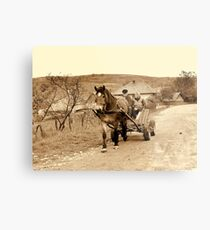 OLD TIME Metal Print