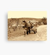 OLD TIME Canvas Print