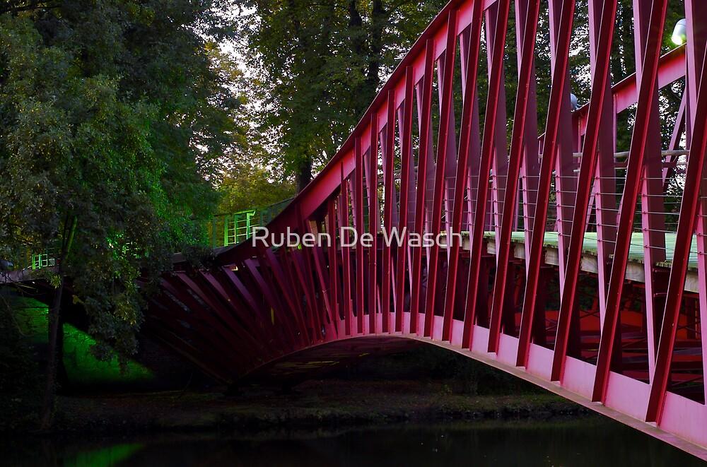 Barge Bridge by Ruben De Wasch