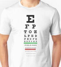 Eye Chart Unisex T-Shirt