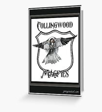 Collingwood team AFL Greeting Card