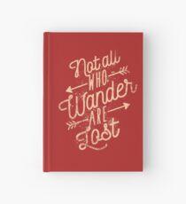 Nicht alle die herumirren sind verloren Notizbuch