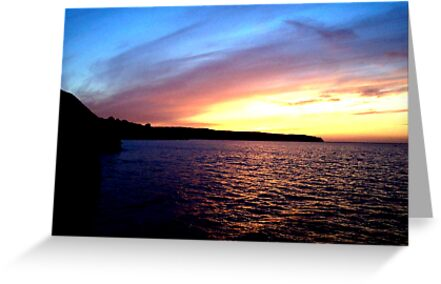 Whitby Sunset by NatMason