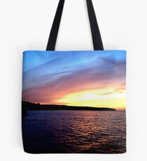 Whitby Sunset Tote Bag