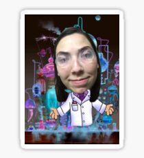 Rad scientist Sticker