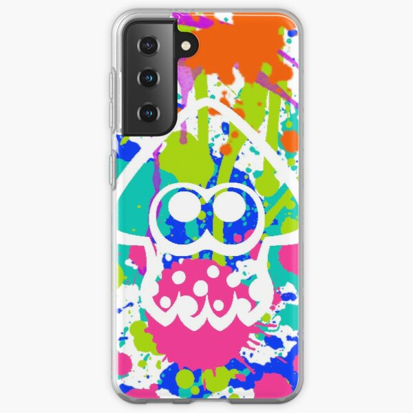 Splatoon Paint Samsung Galaxy Soft Case