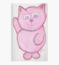 Pinkie Kitty Photographic Print