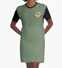 Metal Gear Solid 1 - Foxhound (toon) Variant Layouts Graphic T-Shirt Dress