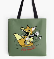 Metal Gear Solid 1 - Foxhound (toon) Variant Layouts Tote Bag