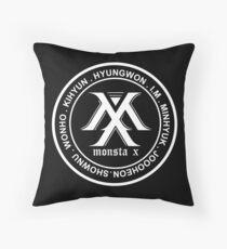 Monsta-x OT7 member Throw Pillow