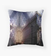 London Gherkin Throw Pillow