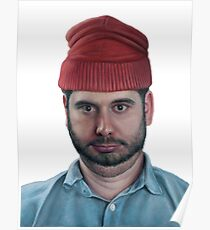 H3H3 - Ethan Klein Oil Canvas (no background) Poster