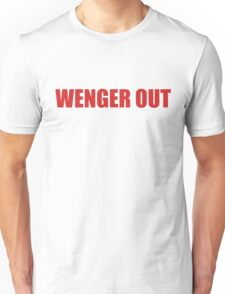 #wenger out Unisex T-Shirt