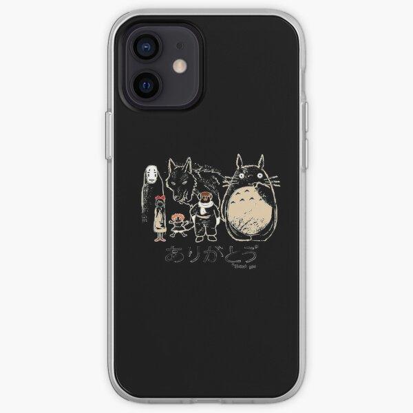 Hommage à Miyazaki Coque souple iPhone