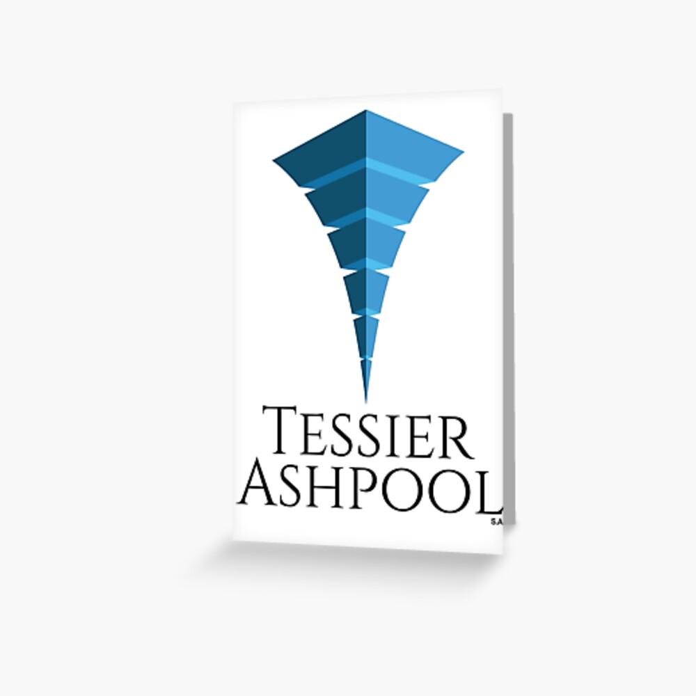 Tessier-Ashpool Logo Greeting Card