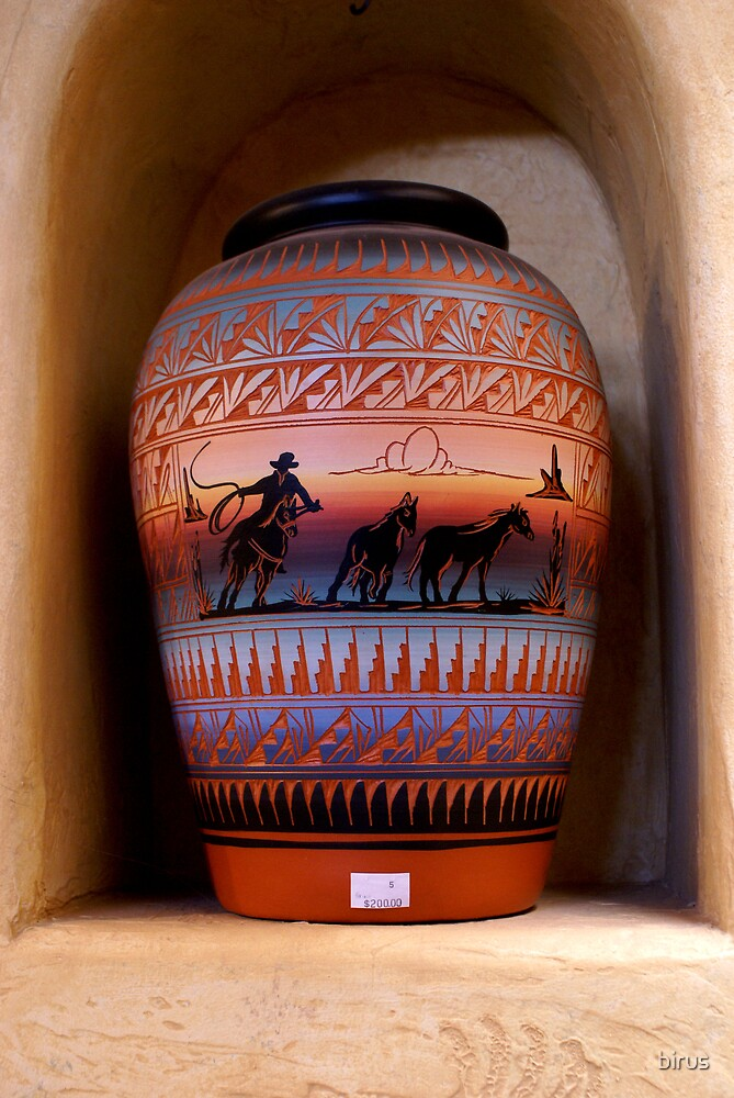 navajo pottery by birus