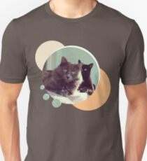 Cats in love. Pair of cats T-Shirt