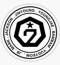 member name GOT7 Sticker