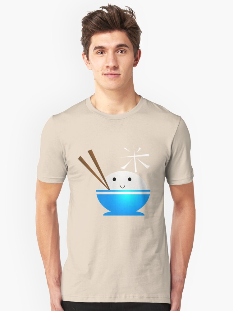 Rice Bowl Unisex T-Shirt Front