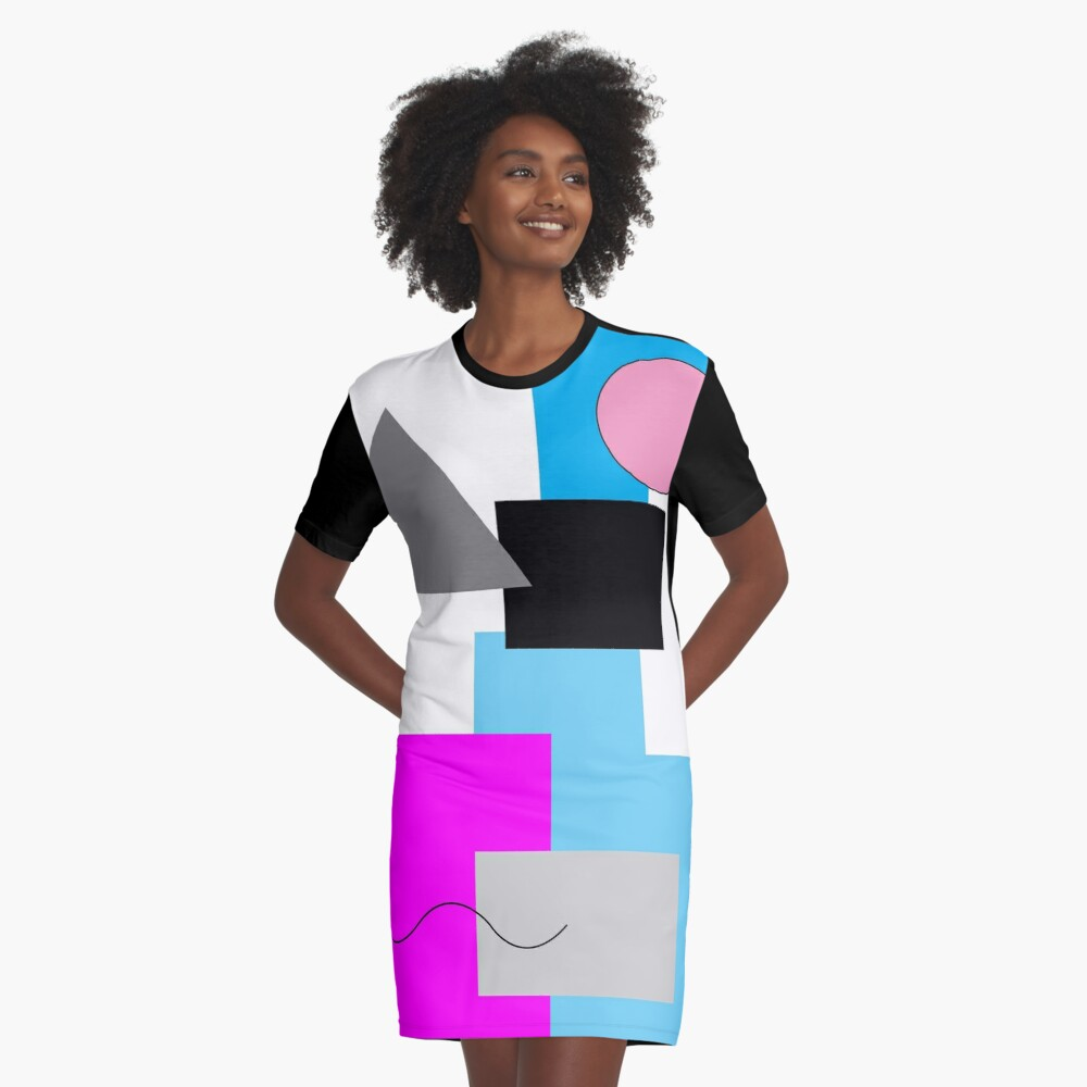 80s Graphic T-shirt Dress