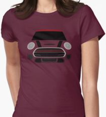 Red MINImalism Womens Fitted T-Shirt