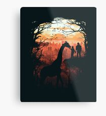 The Last of Us Metal Print