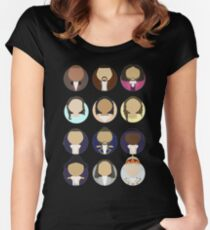 Hamilton Busts Women's Fitted Scoop T-Shirt