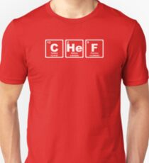 Chef - Periodic Table Slim Fit T-Shirt