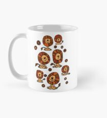Cute Flower Cartoon Lions by Cheerful Madness!! Mug