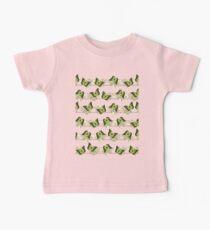 Green butterflies pattern Kids Clothes