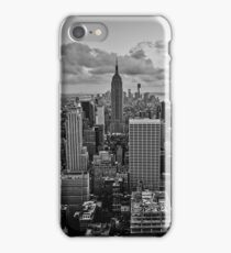 Empire State Building B+W iPhone Case/Skin